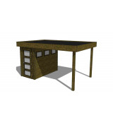 Gartenhaus/Blockhütte Fonteyn Module 450 x 300