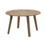 Taste by 4 Seasons Outdoor | Tuintafel Derby Ø 130 cm | Teak Poten