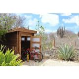 Gartenhaus/Blockhütte Fonteyn Module  Hochdruck-Imprägniert 150 cm x 300 cm