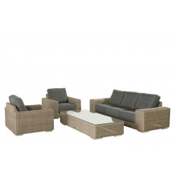 Loungeset Kingston - Pur - 4 Seasons Outdoor