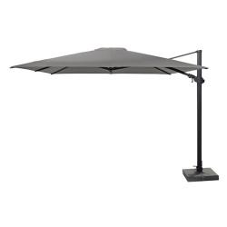 4 Seasons Outdoor   Zweefparasol Siesta Premium 300 x 300 cm   Antraciet-Charcoal