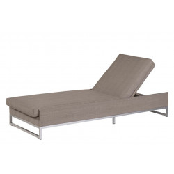 Liegestuhl Ibiza - Taupe - Persoon Outdoor Living