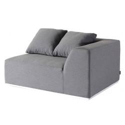Fonteyn   Loungebank 2-zits Links Buddha   Grey Flanelle