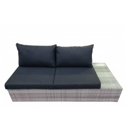 Fonteyn | Loungebank 2-zits Links Salou | Light Grey