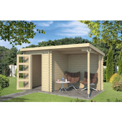 Outdoor Life Products | Tuinhuis met Overkapping Jelle 370 x 175