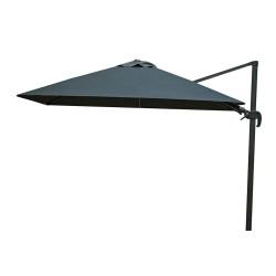 Zweefparasol 300 x 300 cm Shadow - Antraciet/Faded Black - Fonteyn Collectie