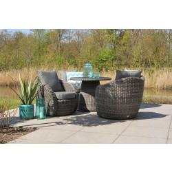 Artie | Lounge-Diningset Lotus | Charcoal