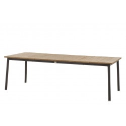 Apple Bee | Tuintafel Milou 240 x 100 cm | Teak-Black