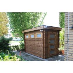 Gartenhaus/Blockhütte Fonteyn Module  Hochdruck-Imprägniert 200 cm x 300 cm