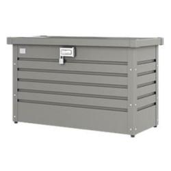 Biohort   Pakkettenbox 100   Kwartsgrijs-Metallic