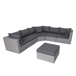 Fonteyn | Loungeset Salou XL | Dark Grey