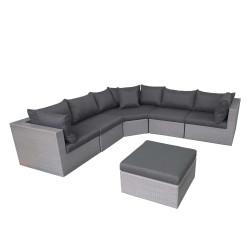 Fonteyn | Loungeset Salou XL | Dark Grey