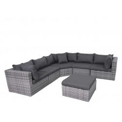 Fonteyn | Loungeset Salou XL | Halfmoon Dark Grey