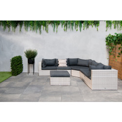 Fonteyn   Loungeset Salou XL   Light Grey