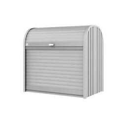 Biohort | Opbergbox StoreMax 120 | Zilver-Metallic