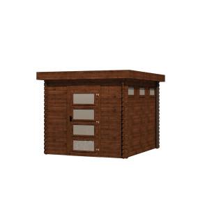 Gartenhaus/Blockhütte Fonteyn Module  Hochdruck-Imprägniert 250 cm x 300 cm