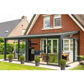 Aluxe Topline veranda met platen 7000x4000