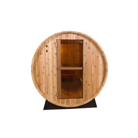 Barrel Sauna   Fonteyn Rustic 4 Ft.   Buitensauna   Red cedar Hout