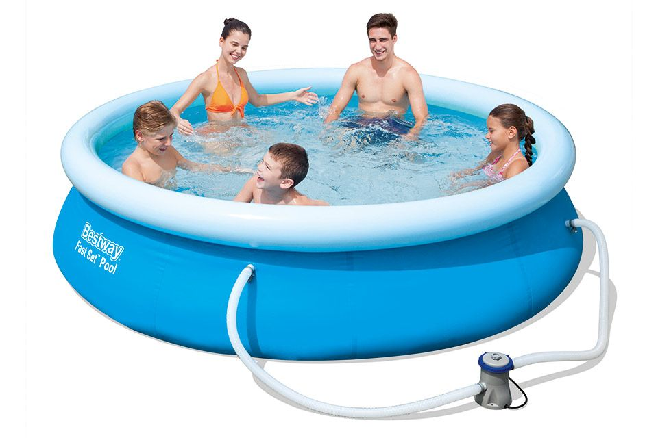 Zwembad Fast Set 305x76