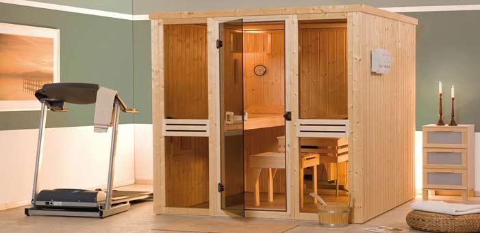 Schauen Sie sich unser riesen Angebot an Saunas und Infrarotkabinen