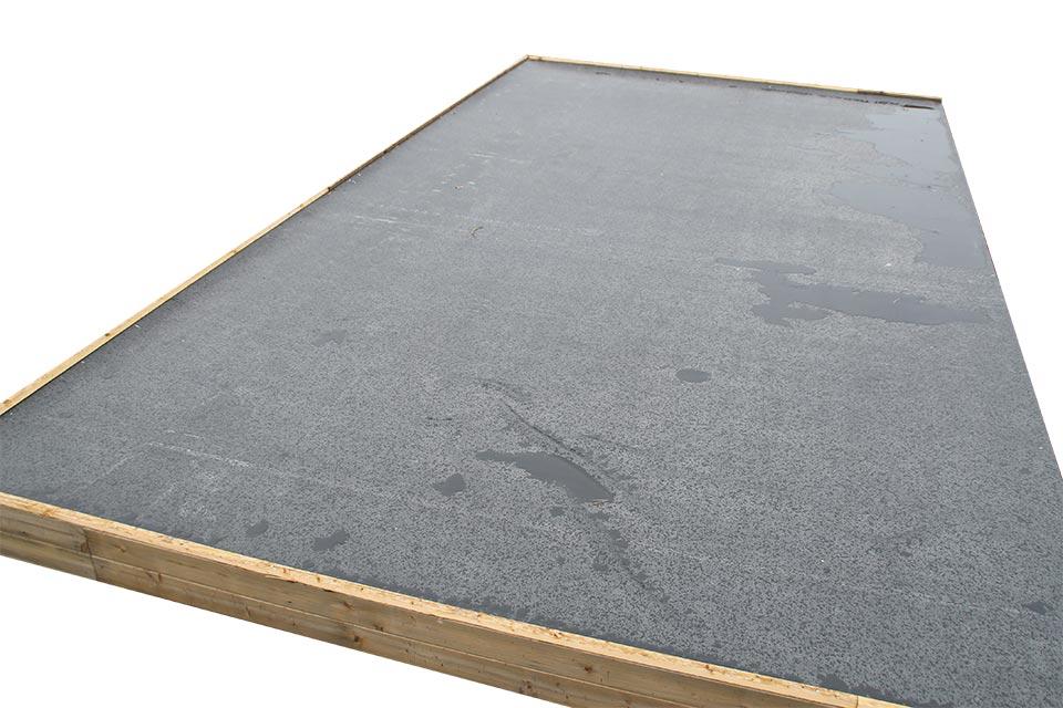 Serienmäßig inkl. EPDM Dachbedeckung