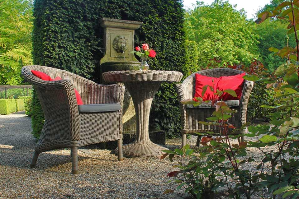 Tuinstoel Eetstoel Chester Pure Wicker | 4 Seasons Outdoor!