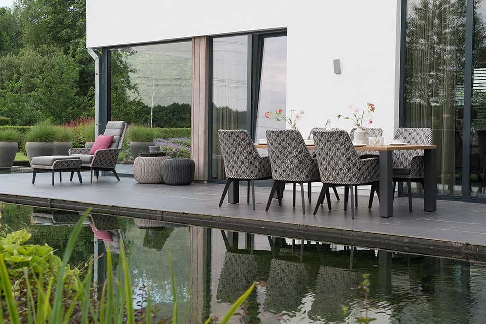 Tuinset Savoy | Wicker Aluminium | 4 Seasons Outdoor!
