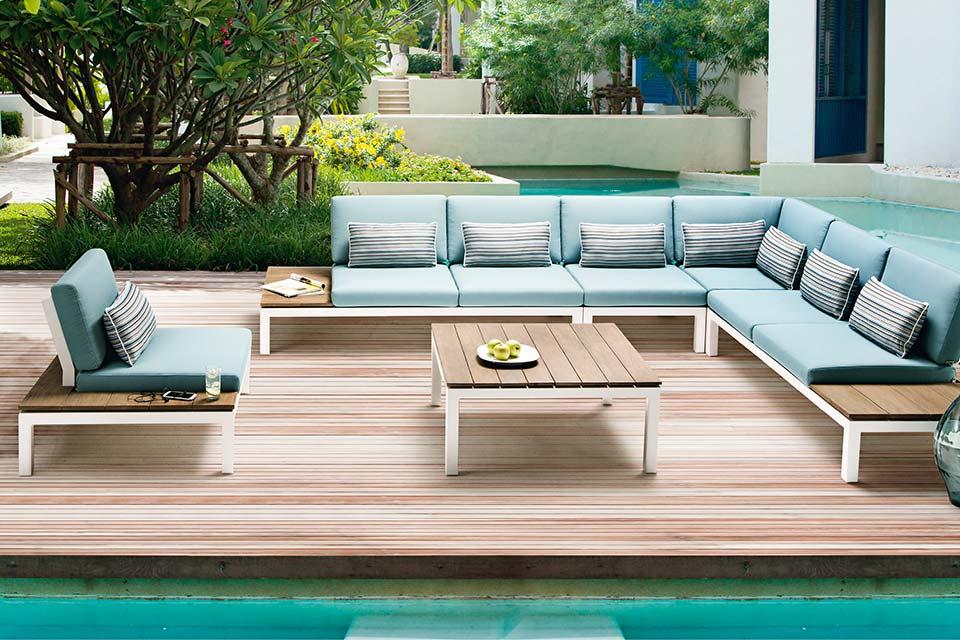 pebble beach loungeset aluminium teakhout apple bee vraag nu uw korting aan. Black Bedroom Furniture Sets. Home Design Ideas
