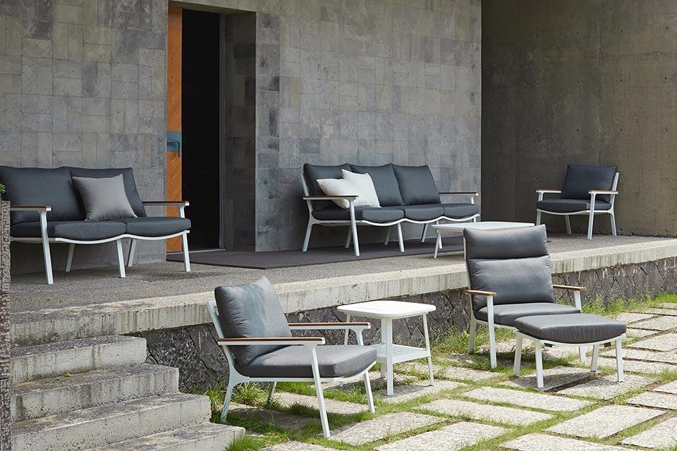 Klara Loungeset | Aluminium | Fonteyn Collectie!