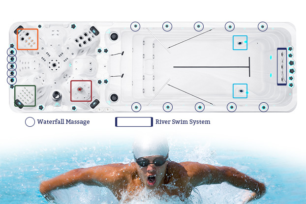 Zwemspa Vitality Deep
